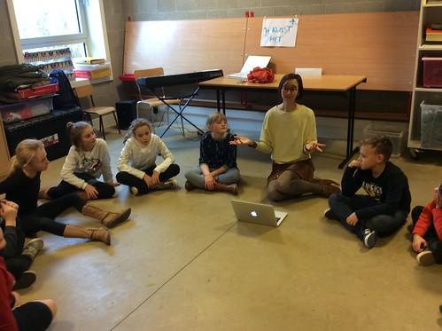 Muziekles 3e Leerjaar