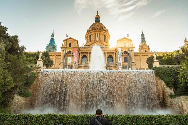 2019-11 01 Palau Nacional, Montjuic, Barcelona, Spain.
