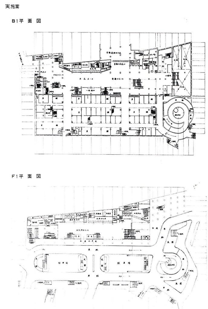 西武新宿線のマイシティ乗り入れ図面 (23)