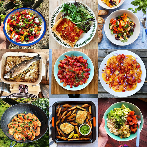 One Pan Pescatarian Instagrams
