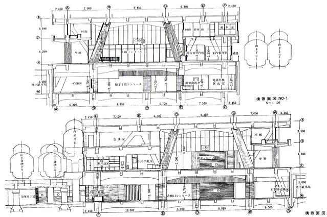 西武新宿線のマイシティ乗り入れ図面 (39)