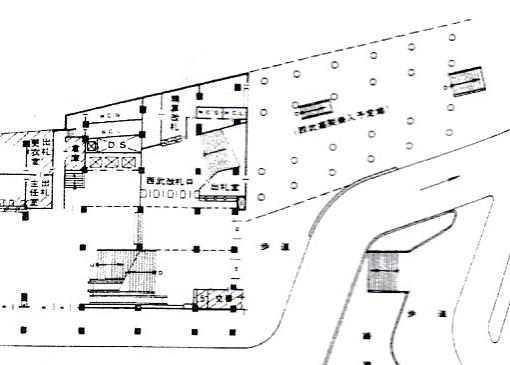 西武新宿線のマイシティ乗り入れ図面 (30)