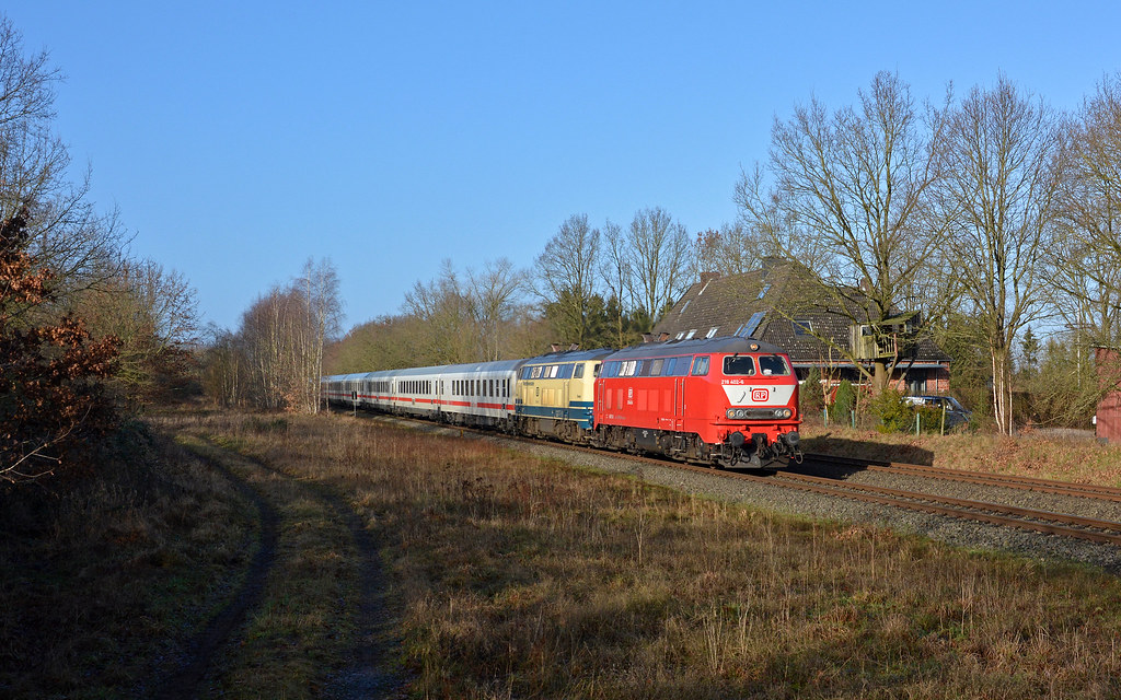 DB Railsystems 218 402-6 + 218 460-4 - Vaale