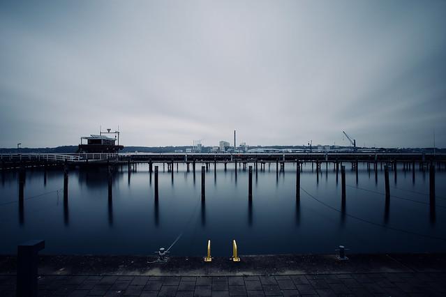Winterpause - Kiel Yachthafen