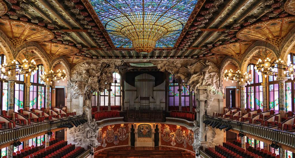 Weekendje Barcelona: Palau de la Musica Catalana | Mooistestedentrips.nl