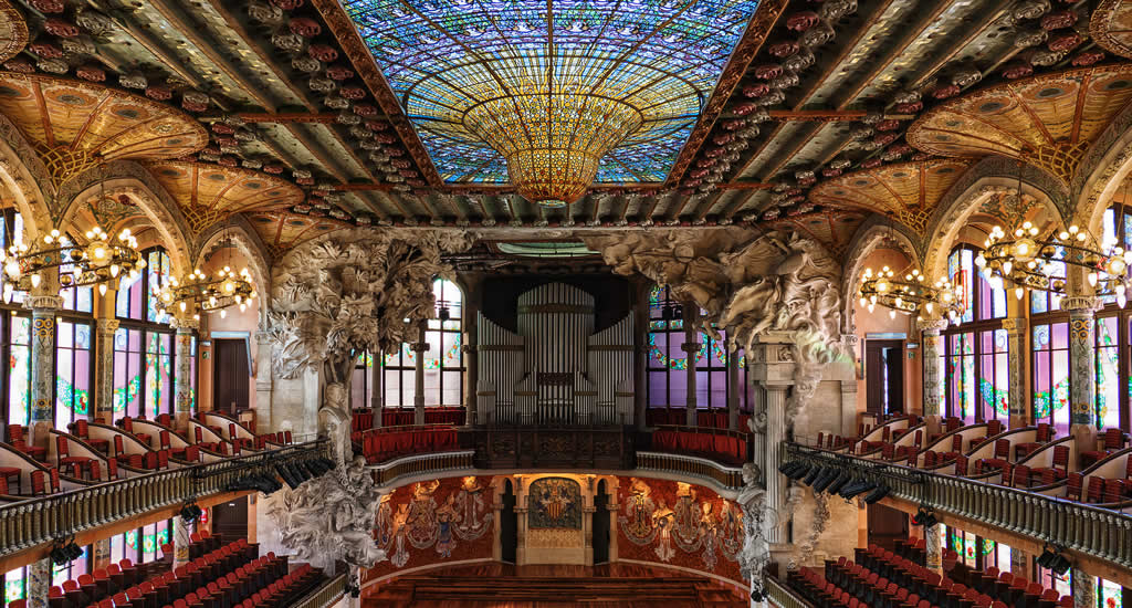 Palau de la Musica Catalana | Mooistestedentrips.nl
