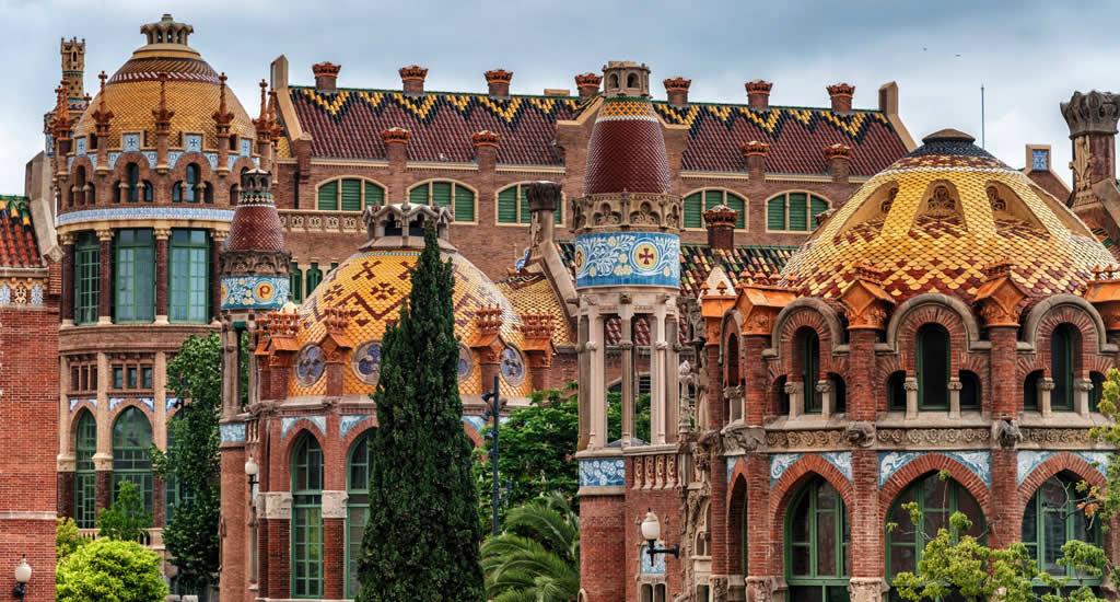 Bezienswaardigheden Barcelona: Hospital de Sant Pau | Mooistestedentrips.nl