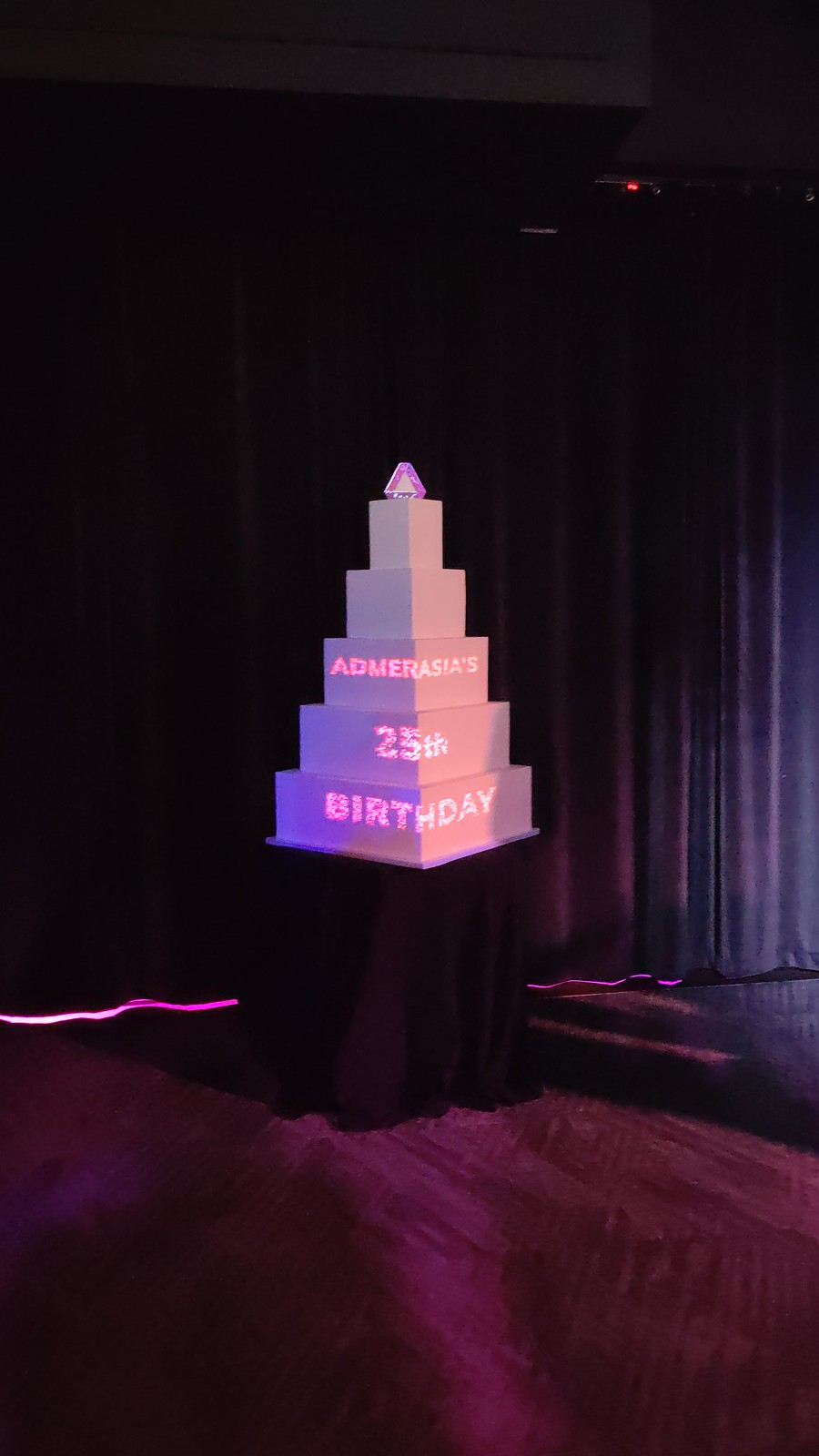 ADMERASIA's 25th B-day [R]Evolution_Projected Cake