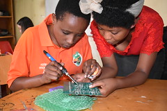 ASYV - IPRC Student Patience Teaching Student How to Solder - Justine