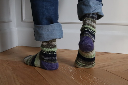 Scrap'N'Play socks
