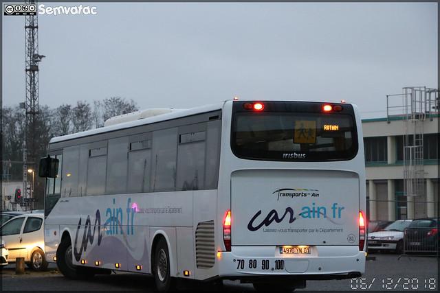 Irisbus Crossway – Transports de l'Ain / car.ain.fr n°262L