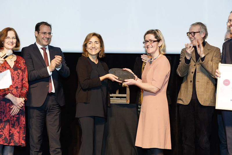 Local Award Ceremony for VERONA: Van Eyck Research in OpeN Access, Belgium