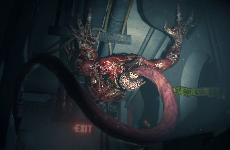 Resident Evil 2 on PS4