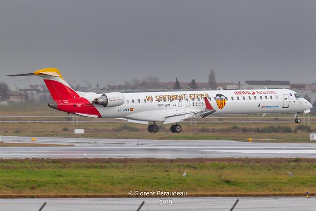 EC-MXA Iberia Air Nostrum CRJ 900
