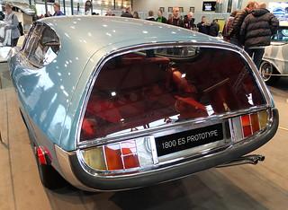 Volvo P1800 ES Rocket Concept (Frua) 1968