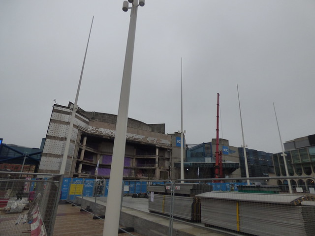 Centenary Square gets back to normal - Symphony Hall foyer refurb works