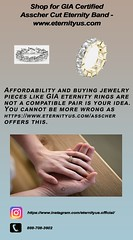 Shop for GIA Certified Asscher Cut Eternity Band - www.eternityus