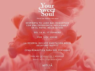HOTEL MELIÁ - Pack San Valentín