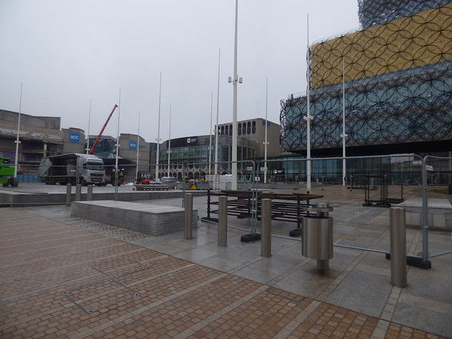 Centenary Square gets back to normal