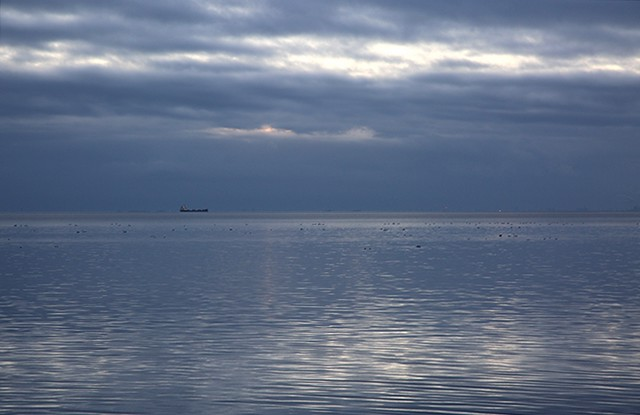 Boat on the Öresund