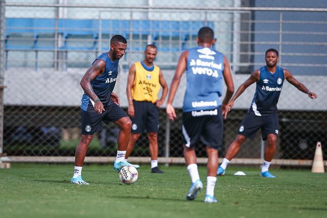 Treino Grêmio 23/01/2020