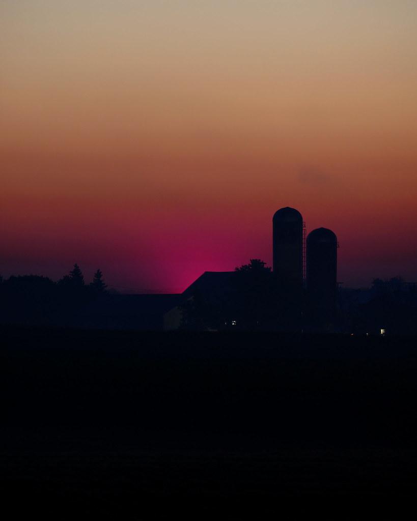 Forty minutes until sunrise