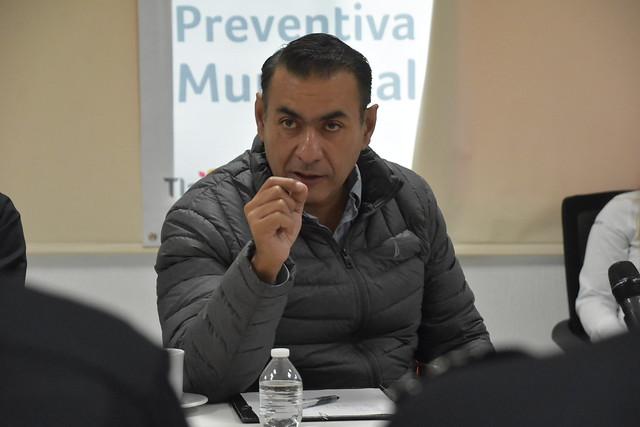 Reunión con Mandos de la Comisaría de Tlajomulco
