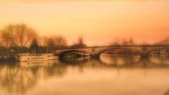 "An ""arty"" shot of the bridge"