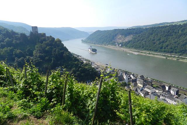 Castillo Pfalzgrafenstein y Kaub Valle del Rin Alemania 02