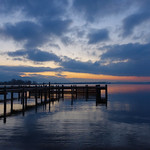 20. Jaanuar 2020 - 16:56 - Sunset at Chiemsee, Bavaria, Germany