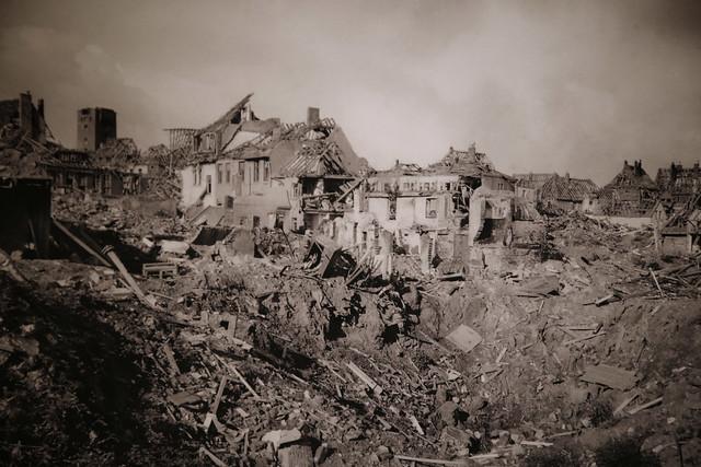 Helgoland April 18, 1945