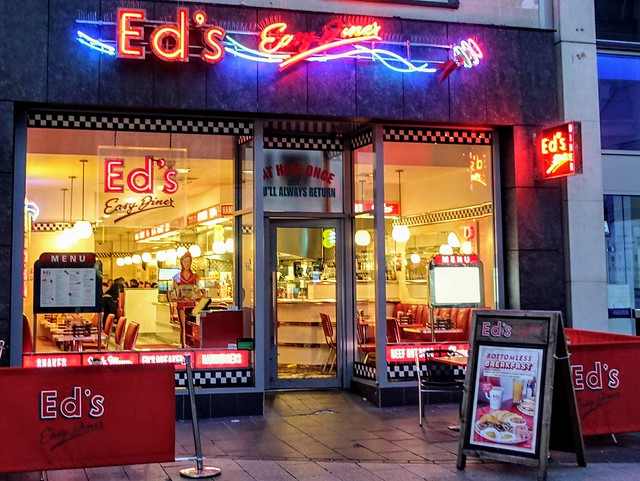 Ed's East Diner at Liverpool
