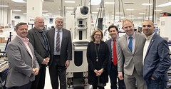 Rep. Steve Harding, second from right, joined his colleagues from Danbury's legislative delegation in touring Hologic, a women's health-focused company that offers options for screening, detection and treatment.