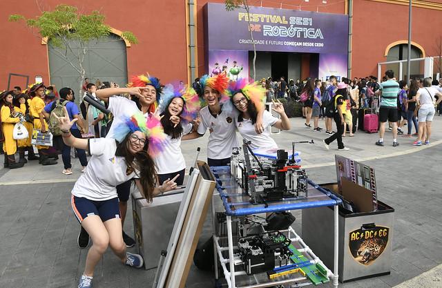 Festival Sesi de robótica 2019