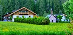 Leutasch, (Tirol, AUS) – Hameau de Ahrn, chapelle Lehner