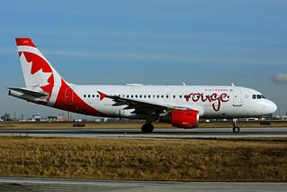 C-FYNS (Air Canada Rouge)