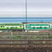 From the GO Train, Eastbound, approaching Mimico Station, Toronto, Canada, 11 Oct. 2018 2 (Panorama 1x4)