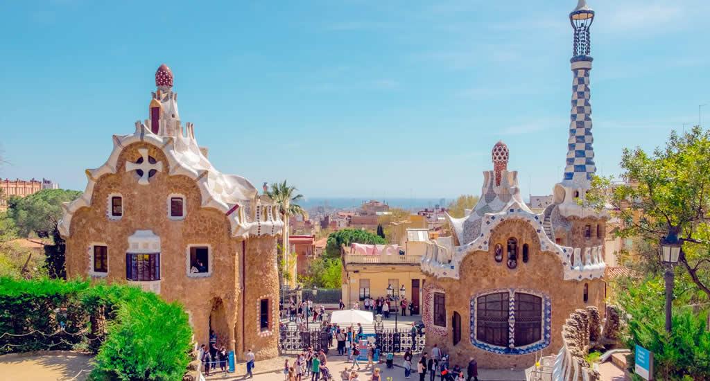 Bezienswaardigheden Barcelona: Parc Guëll | Mooistestedentrips.nl