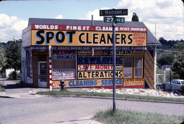 Spot Cleaners, circa 1977