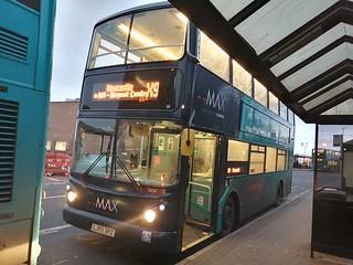 Arriva Northumbria 7424 on the X9