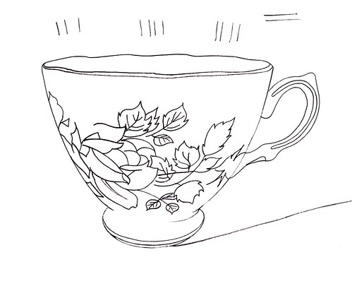 WS2002: Teacup - Line Art | by COLORED PENCIL magazine