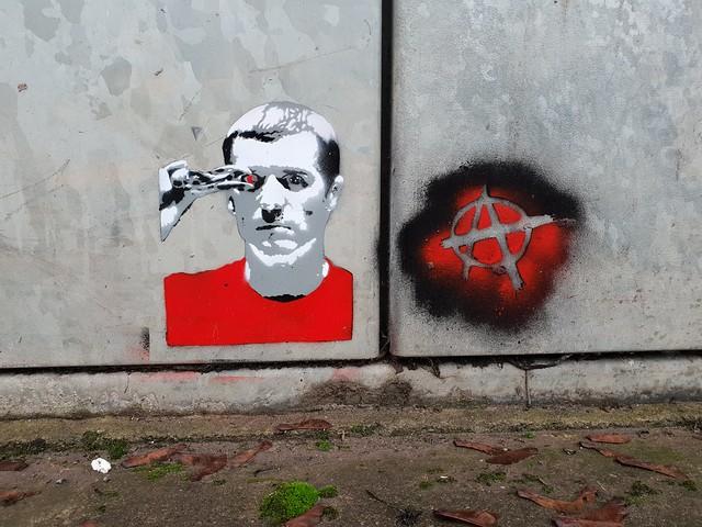 Roy Keane, Terminator, by Anon