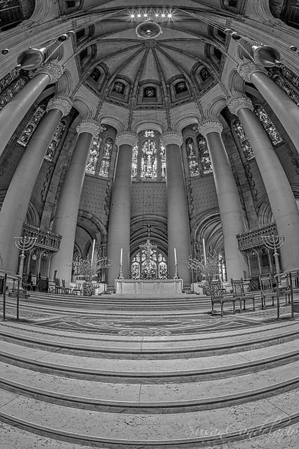 Saint John the Divine Cathedral Altar BW