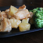 Sweet and Sour Chicken with Soy Ginger Broccoli