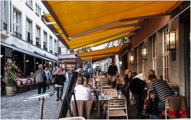 229 - Y AHORA UN CAFÉ ANTES DE REGRESAR - ZURICH  -