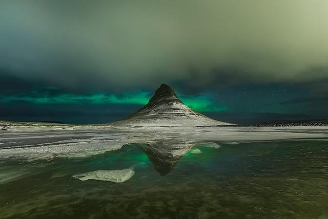 Green Kirkjufell