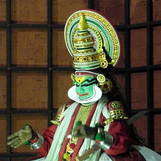 kathakali green smile