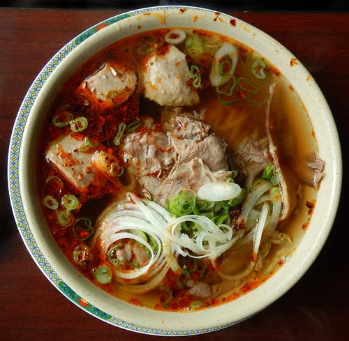 A spicy Vietnamese soup