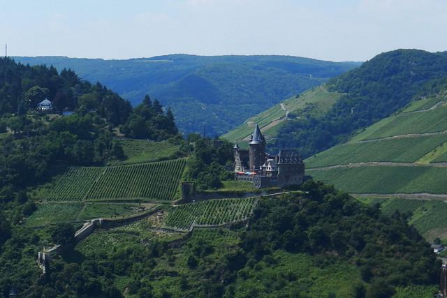 Castillo Stahleck burg en Bacharach Valle del Rin Alemania 02