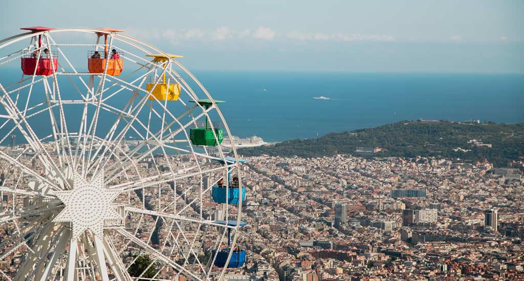 Bezienswaardigheden Barcelona: Tibidabo | Mooistestedentrips.nl
